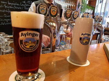 Ayinger Celebrator Doppelbock in Munich
