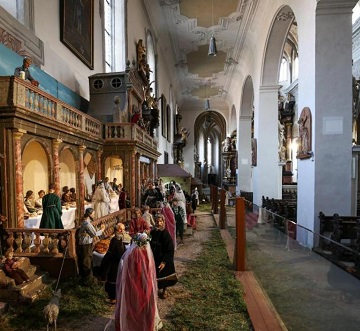 Bamberg Nativity Scenes Crib Trail