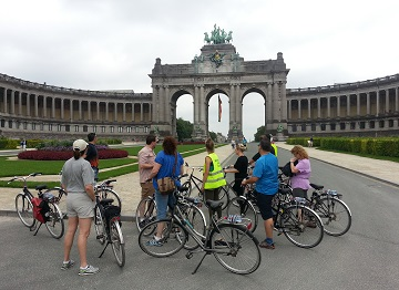 Brussels Bike Tour Victory Gate