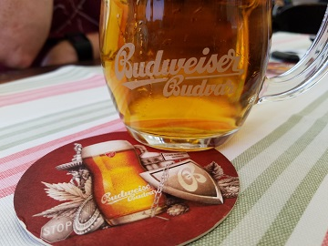 Real Budweiser Budvar in Prague