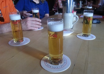 Cologne Fruh Kolsch Beer