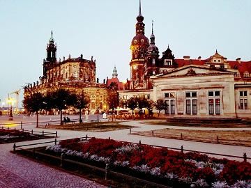 Dresden Germany Buildings