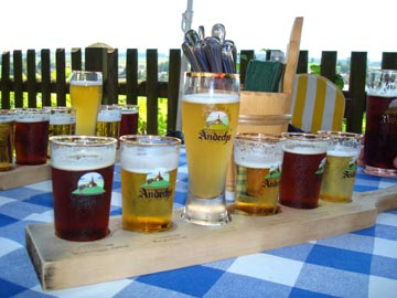 Kloster Andechs Beer Samples