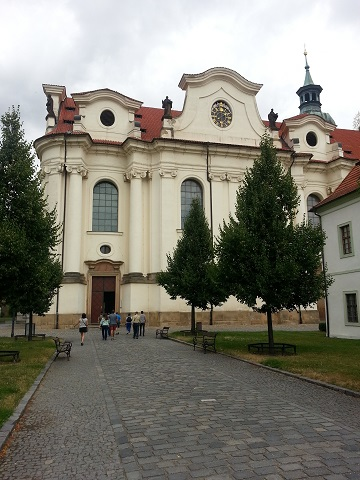 Prague Monastery Brewery Abbey Church